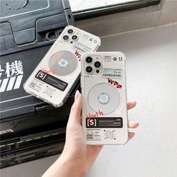 미러 CD 플레이어 스티커 젤리 케이스 아이폰 13 프로