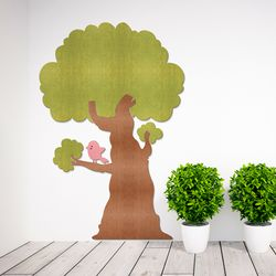 [우드스티커] 나무야 나무야 (컬러선택) 어린이집환경구성