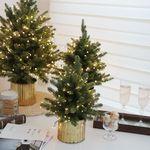 메리메리 크리스마스 틴화분 트리-45cm