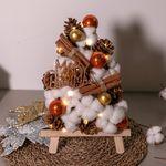 LED 피네코튼이젤트리 30cmP 크리스마스 장식 TRHMES