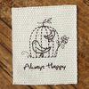 40mm 면라벨-Always Happy 1yd
