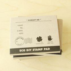 [클리어런스] ECO DIY STAMP PAD-FORGET ME