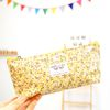 flower rain pen pouch v.2 -light yellow